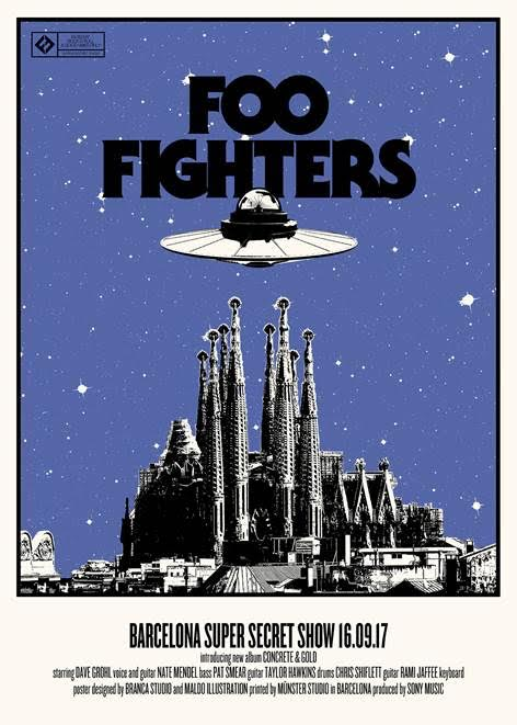 Foo Fighters Secret Show Barcelona